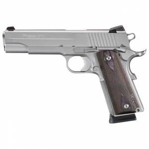 Sig Sauer 1911 Stainless Rail California Compliant