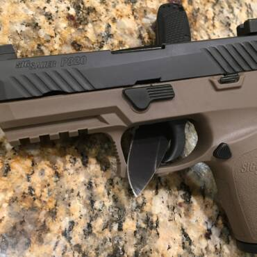 Why did the U.S. Army pick the Sig Sauer P320 as the new service pistol?